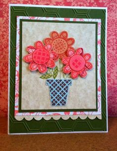 MAR13VSNMINI2 Spring flowers by RJP111 - Cards and Paper Crafts at Splitcoaststampers