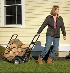 1000+ ideas about Firewood Carrier on Pinterest | Log Splitter, Coffee ...