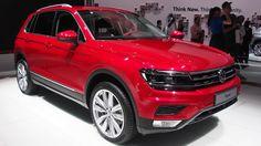 2016 Volkswagen Tiguan Red -  Exterior and Interior Walkaround