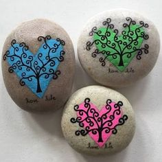 rock painting ideas ile ilgili görsel sonucu