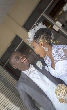 Nigerian Natural Hair Bride BellaNaija Weddings 0