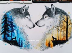 Ideas Tattoo Wolf Ideas Spirit Animal Inspiration For 2019 Wolf Tattoos, Animal Tattoos, Celtic Tattoos, Wolf Spirit, Spirit Animal, Animal Drawings, Cool Drawings, Drawing Animals, Pencil Drawings