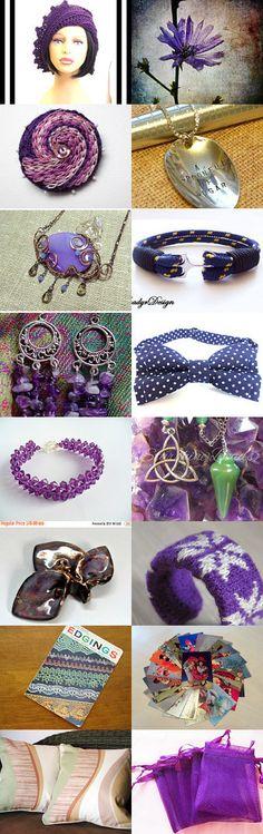 Purple dreams by Elina Ozolina on Etsy--Pinned with TreasuryPin.com
