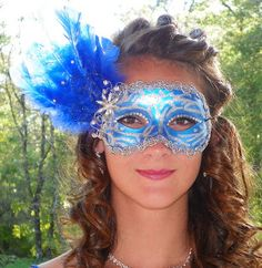 DIY by The Tickled Herring: How to Make a Masquerade Mask