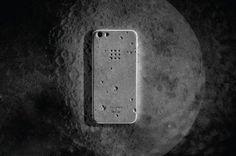 """月球表面 /  """"Luna"""" Concrete iPhone 5 水泥製手機殼"""