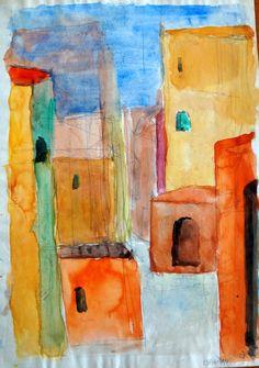 isfahan. Watercolor 1959. cio -  (1125×1600)
