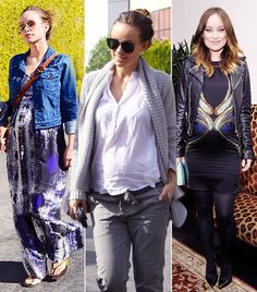 @Who What Wear - Outfit Envy! Check Out Olivia Wilde's Pregnant Style