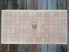 96 pieces Custom Wedding Guest Book Puzzle by NorthernOwlCreations