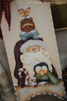 Oh Oh Oh....      Santa Claus.....Rudolph.....e...un simaptico pinguino Aspettano che arrivi Natale!!