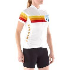 Twin Six The Grand Prix Bike Jersey - Womens Jersey I am crushing on! #REI #TWINSIX #Cycling