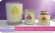 Touches de Parfum, est un studio de création de parfum pour : - Créer un parfum à votre image avec les Parfums sur mesure  - Réaliser des Ateliers création de Bougies, Parfum d'Ambiance, Eau parfumée - Faire des Ateliers enfants http://www.bejiines.fr/2014/10/touche-de-parfum.html