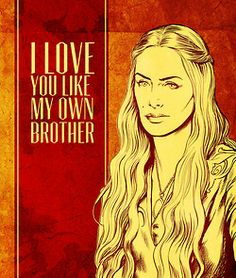 game of thrones valentines: cersei