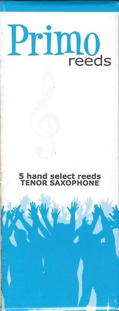 Primo Bb Tenor Saxophone Reeds Strength 2.0, Box of 5