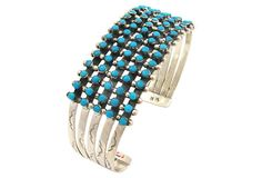 Zuni Snake Eye Bracelet by Ruby + George on @One Kings Lane