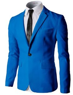 H2H Mens Single Breasted One Button Blazer Jacket With Long Sleeves BLUE US M/Asia L (KMOBL056) H2H http://www.amazon.com/dp/B00IZ9299S/ref=cm_sw_r_pi_dp_U2iZub1MC0D85 #FLATSEVEN #men #fashion #Mens Fashion #blazer #Long Sleeves #Button Blazer