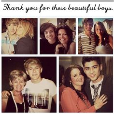 Happy Mothers Day to these Wonderful Mothers who made these boys the way they are, with their amazing personalities(:
