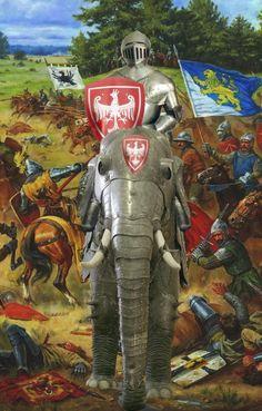 heavy elephant medieval cavlary