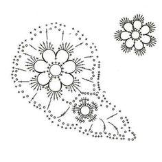 Paisley crochet motifs | Crochet