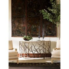 Road to Canberra by Tommy Bahama Home Bannister Garden Console Table