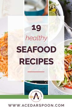 These 19 Healthy Seafood Recipes are a must make for you and your family. They are light, healthy and offer a little something for everyone. Quick Easy Meals, Healthy Dinner Recipes, Snack Recipes, Cooking Recipes, What's Cooking, Delicious Recipes, Easy Recipes, Vegan Recipes, Seafood Dinner