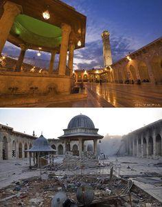 10 Fotos Antes E Depois Revelam O Que A Guerra Fez Com A Maior Cidade Da Síria