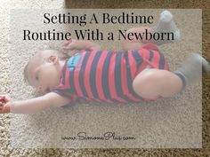 It took me about 4 weeks to settle into a night time routine with Oliver. However, since we started, it has been FANTASTIC! I wish that we had started our bedtime routine much earlier...