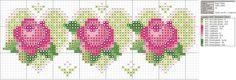 graficos-de-rosas-de-ponto-cruz-12-500x400 Gráfico de rosas em ponto cruz para toalhas
