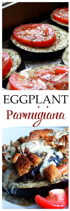 Eggplant Parmigiana - This recipe is fabulous! Low cal, simple and fresh! Get the recipe on diethood.com