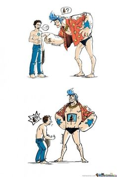 Franky and Tony Stark #one piece || Putting it on my one piece board and my super hero board....Called 'Super-People' .... Franky approves?