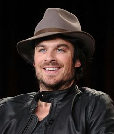 Ian Somerhalder at The Vampire Diaries & The Original's panel during the 2015 Winter Television Critics Association press tour at the Langham Huntington Hotel & Spa on Sunday (01/11/15) in Pasadena, CA
