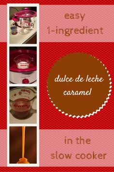 DId you know you can do this? You can actually make dulce de leche caramel from a can of sweetened condensed milk! All it takes is this recipe and the crock pot or slow cooker.