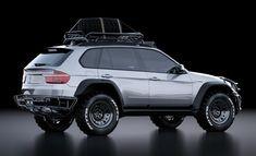 Российский дизайнер прокачал премиальный паркетник BMW X5до стадии честного «проходимца» Свою работу Касим Тлибеков опубликовал на портале немножечко витающих в