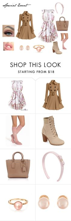 """""""Special Event"""" by ashcollins0923 on Polyvore featuring Rut&Circle, Timberland, Michael Kors, Salvatore Ferragamo and Kenneth Jay Lane"""