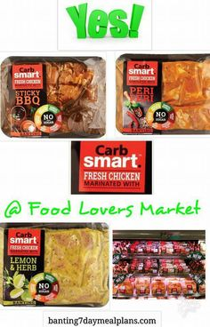 At Food Lovers Market Banting Diet, Lemon Herb, Fresh Chicken, Marinated Chicken, Real Food Recipes, A Food, Bbq, Low Carb, Keto