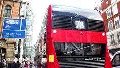 Buses at Liverpool Street station, Bishopsgate filmed on 30th September 2016