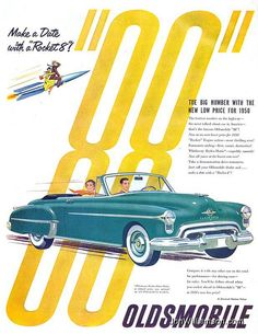 1950 Oldsmobile 88 Convertible.