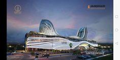 Opera House, Gate, Clouds, Building, Travel, Design, Viajes, Portal, Buildings