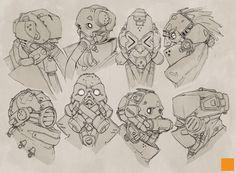 Mask Designs, Darren Bartley on ArtStation at http://www.artstation.com/artwork/mask-designs
