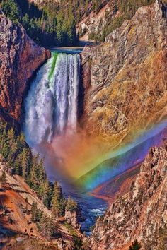 Upper Falls, Yellowstone National Park, Wyoming