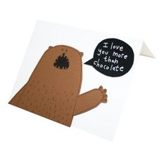 Hey, I found this really awesome Etsy listing at https://www.etsy.com/ru/listing/210836464/funny-bear-card-i-love-you-more-than