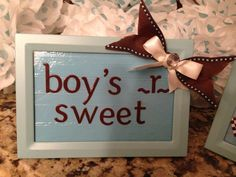 Candy Table baby shower decor