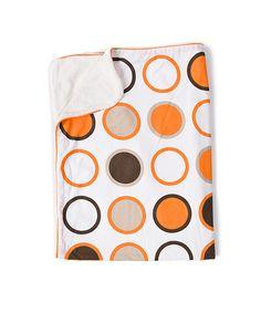 Orange Bug CoZi Stroller Blanket