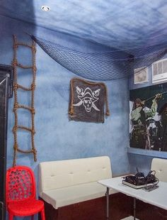 Pirates Seafood Restaurant and Karaoke Bar: Another Grub, Guzzling, and Fun Place is Open in Cagayan de Oro Seafood Restaurant, Karaoke, Pirates, Projects To Try, Tapestry, Bar, Restaurants, Room, Storage