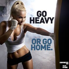 Go for it! Go Heavy!!! - fitness motivation, inspiration, self help, self improvement - If you like this pin, repin it and follow our boards :-) #FastSimpleFitness - www.facebook.com/FastSimpleFitness