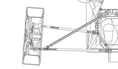 Front suspension - a good discussion of reverse trike front suspension geometry