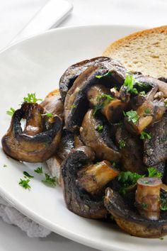 Crostini with Wild Mushrooms & Mozzarella    http://www.oprah.com/food/Quick-Appetizer-Recipes-10-Minute-Appetizers/6