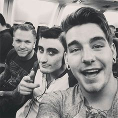 Dave,Andy and Kyle - we came as romans