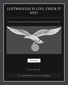 Luftwaffles is Live, Check It Out!