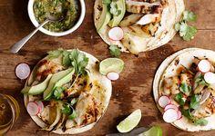Grilled Chicken Tacos / Bon Appétit