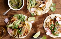 Chicken breasts aren't the only cut sold skinless and boneless. Thighs are, too. They're fattier than breasts, which means they're more flavorful; plus, they're less expensive. Put them to work in any fast weeknight preparation, starting with these spiced tacos.
